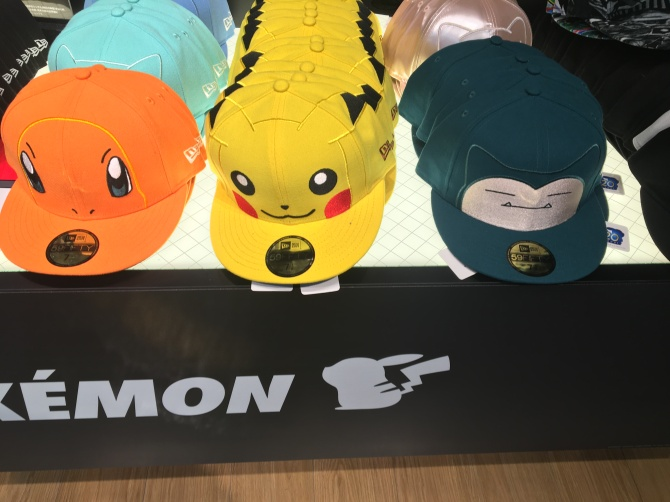 pokemon hats