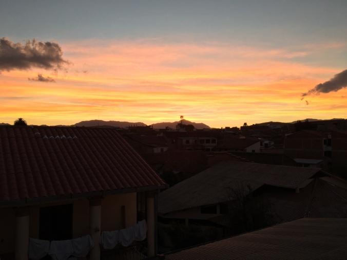 sucre sunset