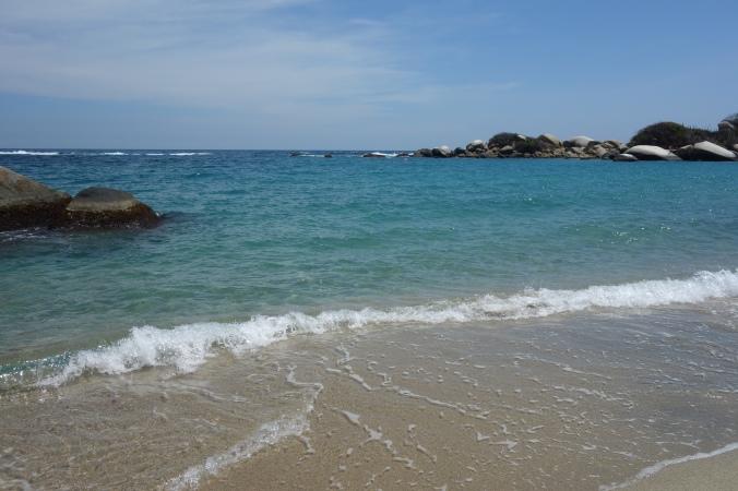 playa arenilla tayrona